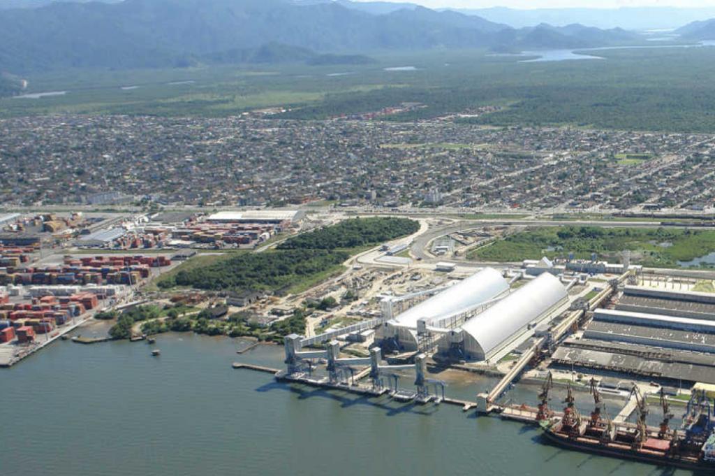 Constran - Projetos - Terminal de Cargas Guarujá